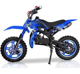 PIKI - Dirt Bike - Sport - 49cc Bleu