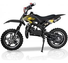 PIKI - Dirt Bike - Sport - 49cc Noir