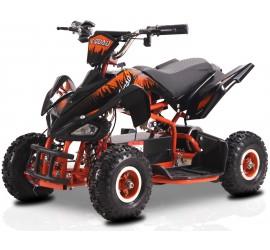 Piki - E-Quad électrique 800 Watts - Noir/Orange