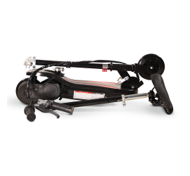 Trottinette électrique pliable Piki Ever avec siège - 120 W - Noir
