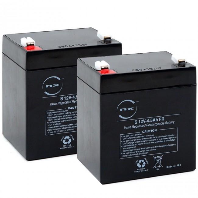 2 x Batterie Plomb trottinette Piki 120 watts