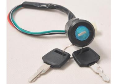 Contacteur de clé pour trottinette électrique